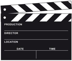 Film Kopf Filmklappe