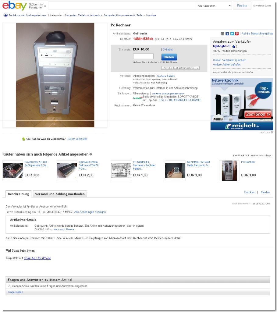 Pc Rechner   eBay
