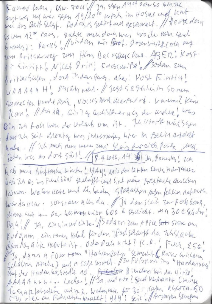Tagebuch 12