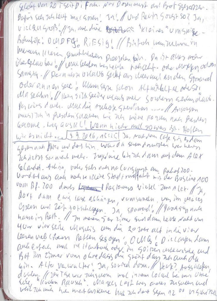 Tagebuch 13