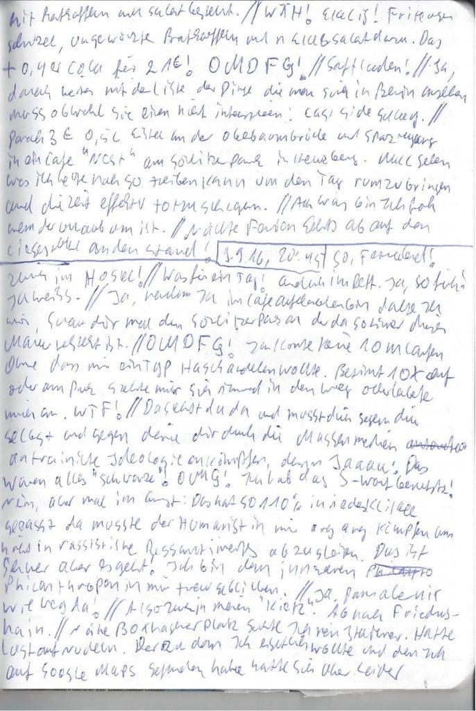 Tagebuch 14